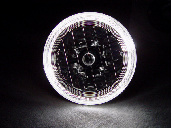 7 Inch Round Halo Headlights H6024 H6014 Sealed Beam